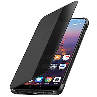 Official Huawei Smart View flip case for Huawei P20 - Black
