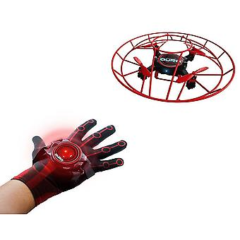 Aura GestureBotics Gesture-Controlled Flying Drone with Glove Controller