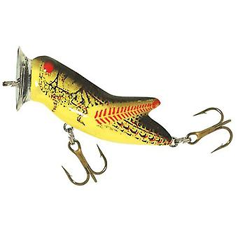 Ribelle Crickhopper 3/16 oz pesca con esche artificiali Popper - giallo/nero