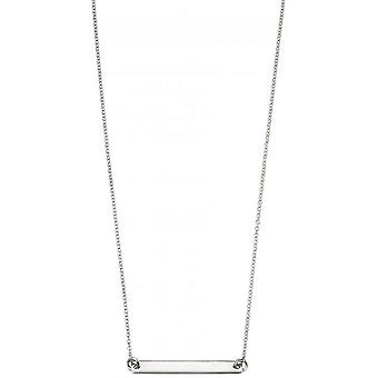 Commencements ID Bar Collier - argent