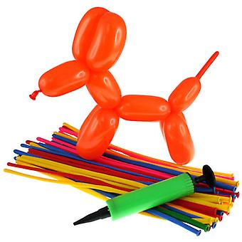 Balloon Modelling Kit (32 balloons and pump)