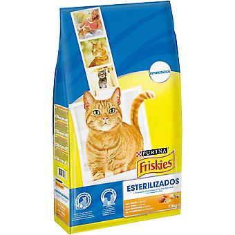 Friskies Sterilized Cat think Turkey and Vegetables (Cats , Cat Food , Dry Food)