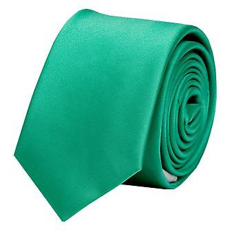 Nouer la cravate cravate cravate 6cm vert uni Fabio Farini