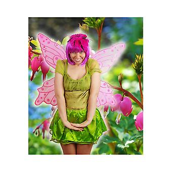 Vingar stora fjäril eller fairy vingar rosa
