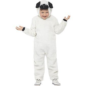 Schaap kostuum, grote leeftijd 10-12