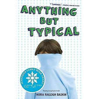 Alles andere als typisch von Nora Raleigh Baskin - 9781416995005 Buch