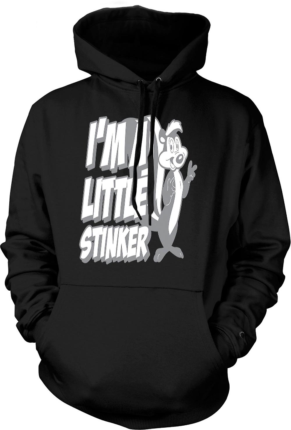 Mens Hoodie - Pepe Le Pew Skunk - Funny Cartoon