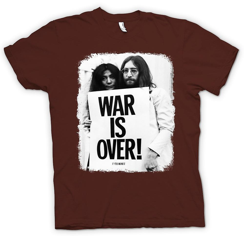 T-shirt homme - John Lennon & Yoko - War Is Over