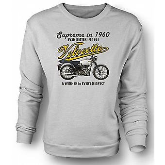 Mens Sweatshirt Velocette 61 Supreme - Bike