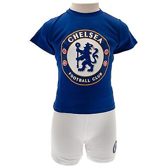 Chelsea FC Childrens/Kids T Shirt And Short Set