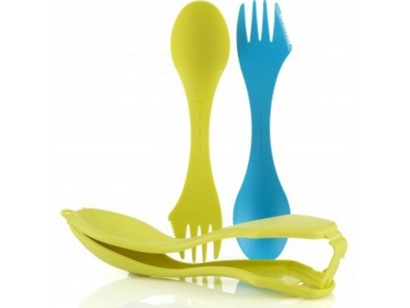 Light My Fire Spork n Case (Lime/Cyan)