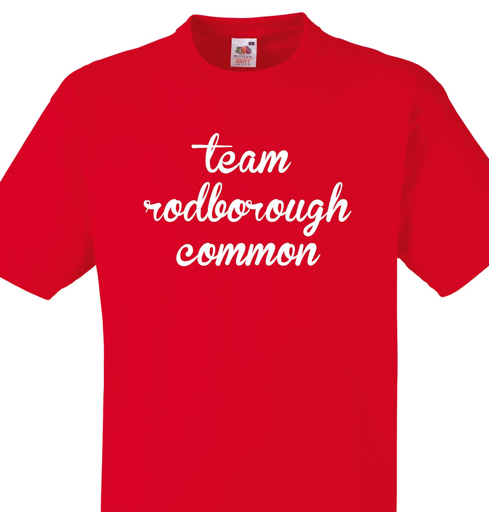 Team Rodborough common Red T shirt
