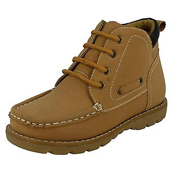 Boys Jcdees Lace Up Casual Boots