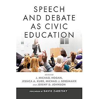 Discurso e Debate como educação cívica (retórica e deliberação democrática)