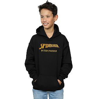 Marvel Boys Spider-Man AKA Peter Parker Hoodie