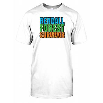 Foresta di Rendall Survivor - cospirazione Mens T-Shirt