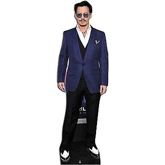 Johnny Depp Levensgrote Kartonnen Knipsel / Standee / Standup