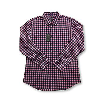 Paul Smith slim fit shirt in pink gingham check