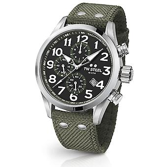 Tw Steel Vs24 Volante Chronograaf Horloge 48mm