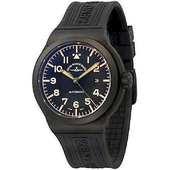 Zeno-Watch Herrenuhr Raid Titan Navigator 6454N-bk-a15