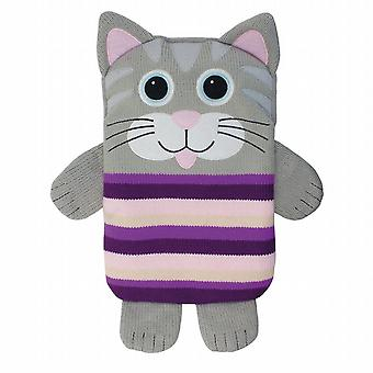 Aroma Home Knitted Snuggle Hottie Body Warmer: Cat