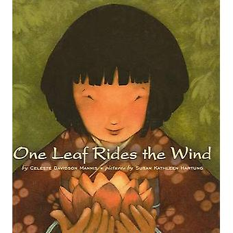 One Leaf Rides the Wind - Counting in a Japanese Garden by Celeste Dav