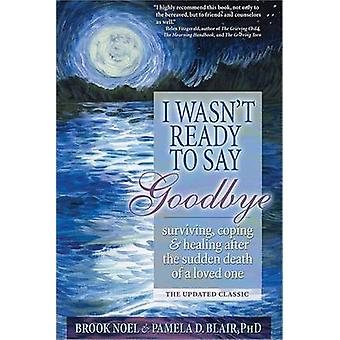 I Wasn't Ready to Say Goodbye by Noel Blake - 9781402212215 Book