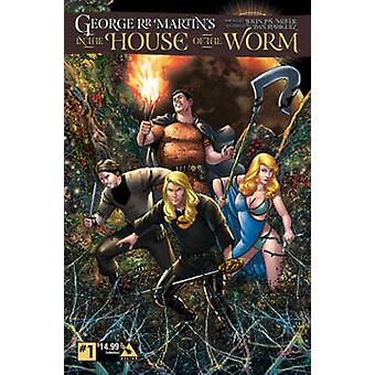 George R.R. Martin in the House of the Worm by Ivan Rodriguez - John