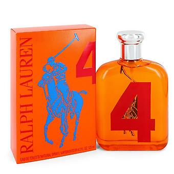 Big Pony Orange by Ralph Lauren Eau De Toilette Spray 4.2 oz / 125 ml (Men)