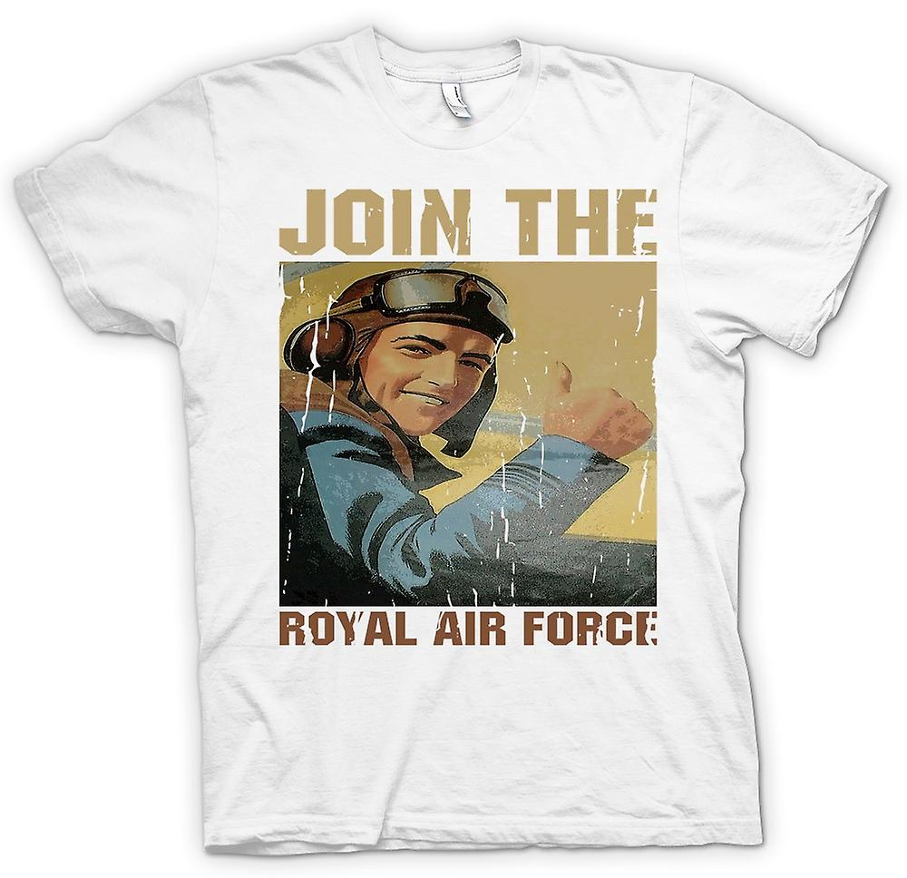 Mens t-shirt - Iscriviti alla Royal Air Force - RAF WW2