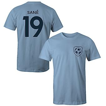 Leroy Sane 19 Manchester City Style Player Kids T-Shirt