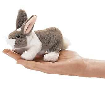 Finger Puppet - Folkmanis - Mini Bunny Rabbit New Animals Soft Doll Plush 2727