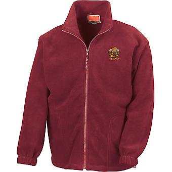 Duke Of Cornwall Light Infantry Veteran - Licensed British Army Embroidered Heavyweight Fleece Jacket