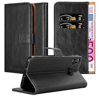 Cadorabo tilfældet for HTC Desire 10 PRO sag Cover-telefon tilfældet med magnetisk lukning, stativ funktion og kort case rum-sag Cover sag sag case sag bog folde stil