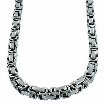 Neck chain Stainless Steel Bysantin link 5mm