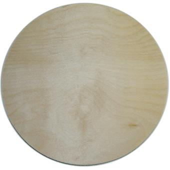 Unfinished Wood Baltic Birch Plaque 1 Pkg Circle 10