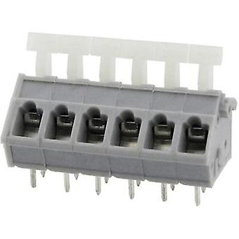 Spring-loaded terminal 3.31 mm² Number of pins 5 DG243-5.0-05P-11-00AH Degson Grey 1 pc(s)