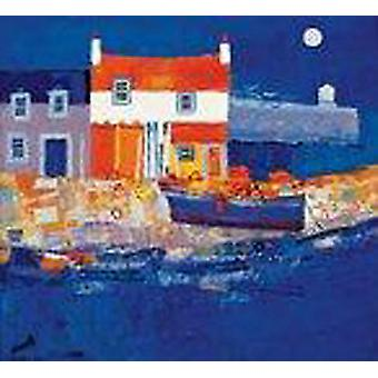 George Birrell print - Blue Harbour