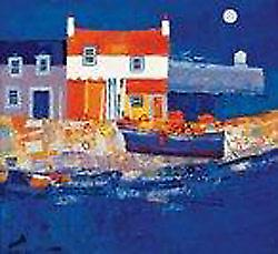 George Birrell print - Blue haven