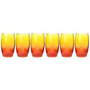 Luminarc 36 Cl Vaso Red / Orange Duos (Kitchen , Household , Cups and glasses)