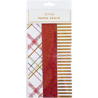 Holiday Paper Chain 30/Pkg-  HYP106
