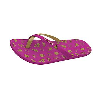 Ipanema Mix charme Kids Slippers / sandalen - donker roze goud