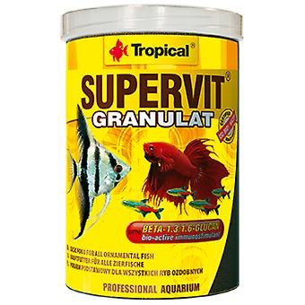 Tropical Supervit granulated 250 Ml (Fish , Food , Warm Water)