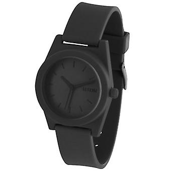 Black Lexon Spring Rubber Watch - Large