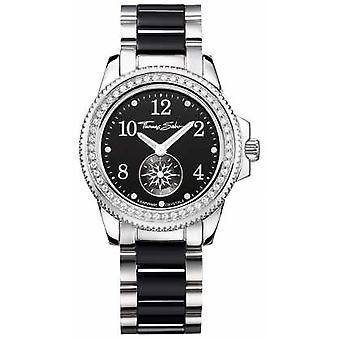 Thomas Sabo Ladies Glam Chic Ceramic Black/Silver WA0169-222-203-33 Watch