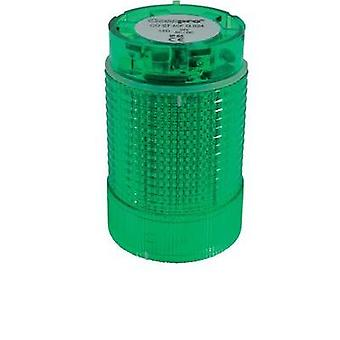 Signal tower component LED ComPro CO ST 40 Green Non-stop light signal, Flasher 24 Vdc, 24 Vac 75 dB