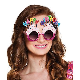 Boland BV Happy Birthday Cake Glasses Fancy Dress Accessory