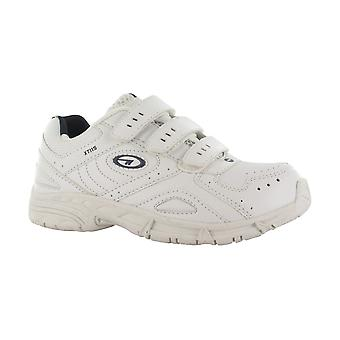 Hi Tec XT115 Boys Velcro Shoes Triple Touch Fastening Trainers Textile PU
