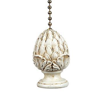 Antiqued Artichoke Decorative Ceiling Fan Light Pull