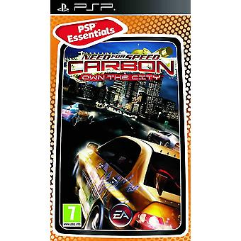 Need for Speed Carbon Own The City Essentials Edition Sony PSP Game